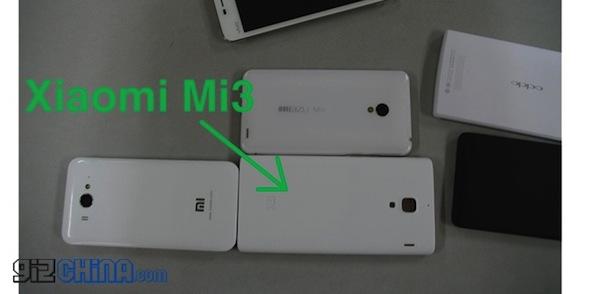 Imagen filtrada del nuevo Mi3