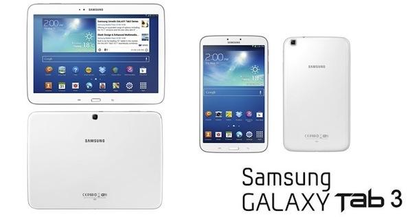 Nuevas Galaxy Tab serie 3