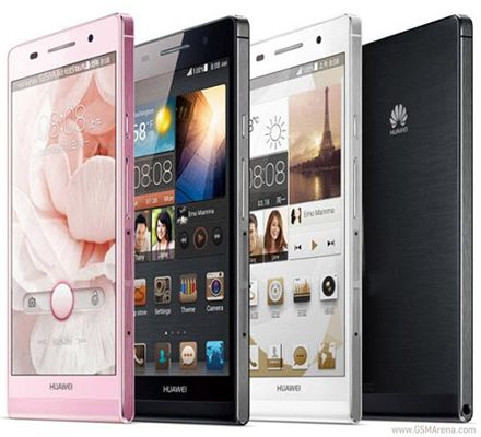Huawei Ascend P6 colores