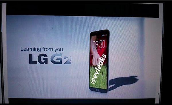 LG G2 captura
