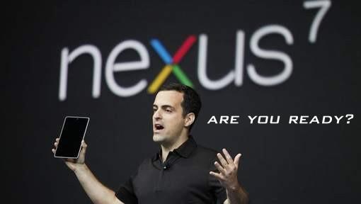 Presentación del Nexus 7
