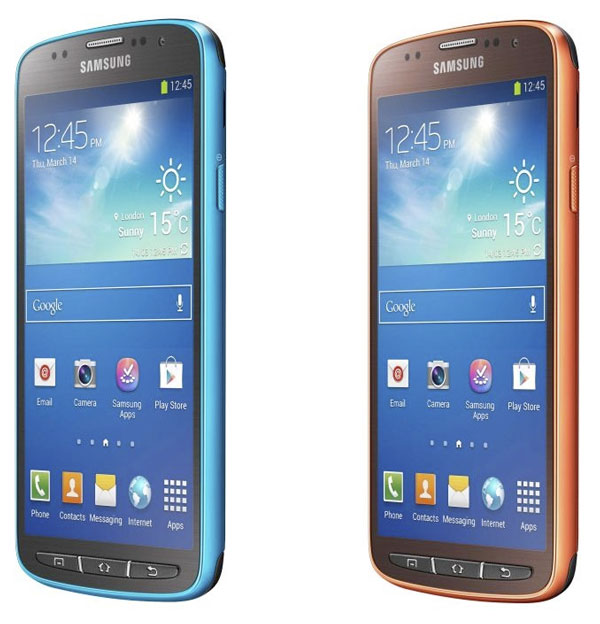 Samsung Galaxy S4 Active colores