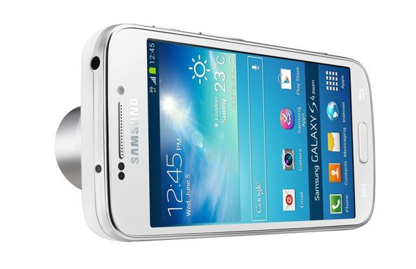 Samsung Galaxy S4 Zoom trasera horizontal