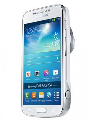 Samsung Galaxy S4 Zoom trasera vertical