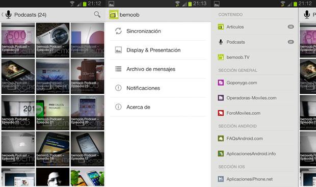 Actualización de la aplicación android de bemoob