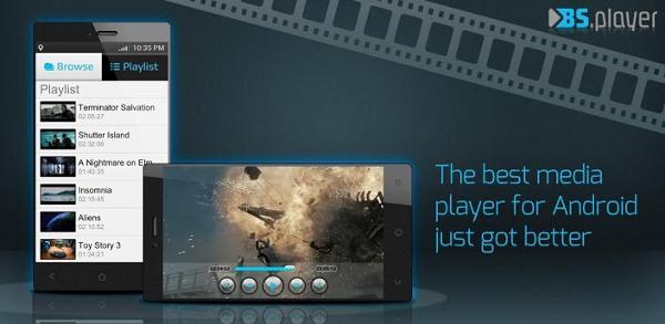 Banner de BSPlayer