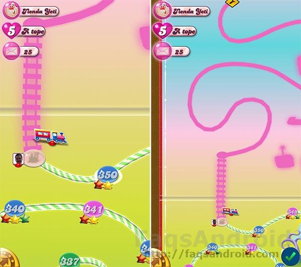 Más diversión para Candy Crush Saga tras la actualización