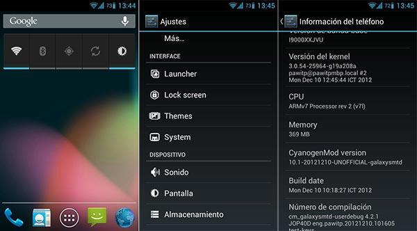 Cinco ROMs recomendadas para el Samsung Galaxy S4: CyanogenMod