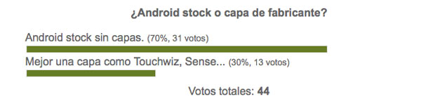 #AndroidWars: ¿Android stock o capa de fabricante?