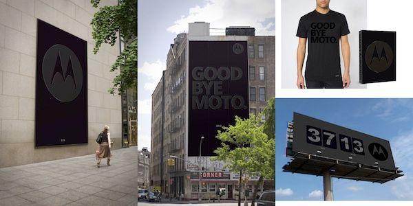 Campaña de Adios Motorola