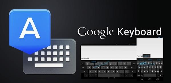 El teclado oficial de Google en la Play Store de Android