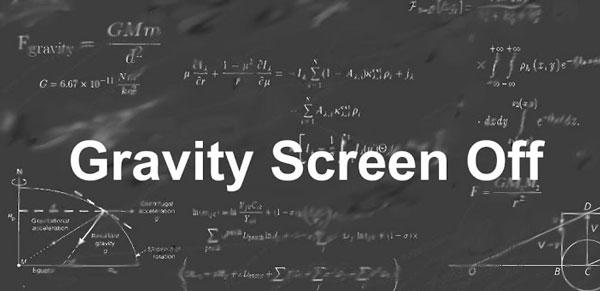 Controla la iluminación de tu pantalla con Gravity Screen Off