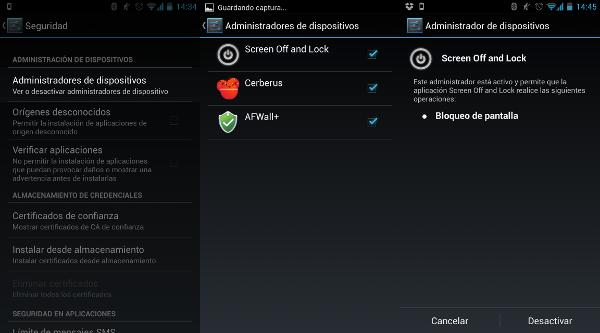 Cómo desactivar un administrador de dispositivos