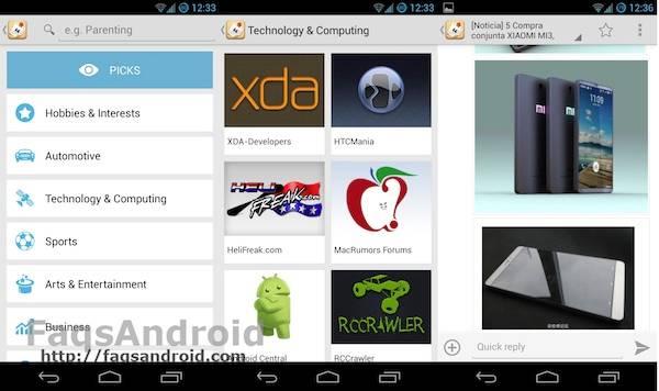 Capturas de pantalla de Tapatalk 4 para Android