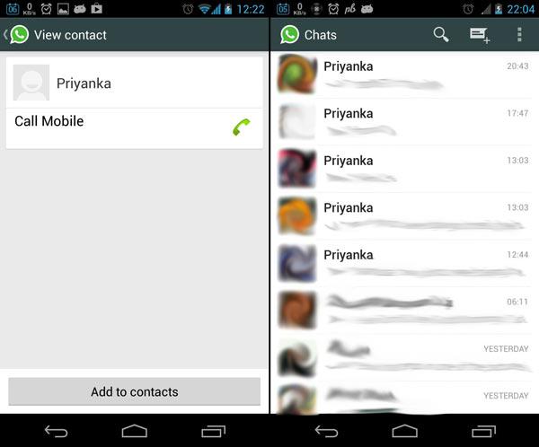 Cómo arreglar el problema de WhatsApp de cambio de nombre de contactos