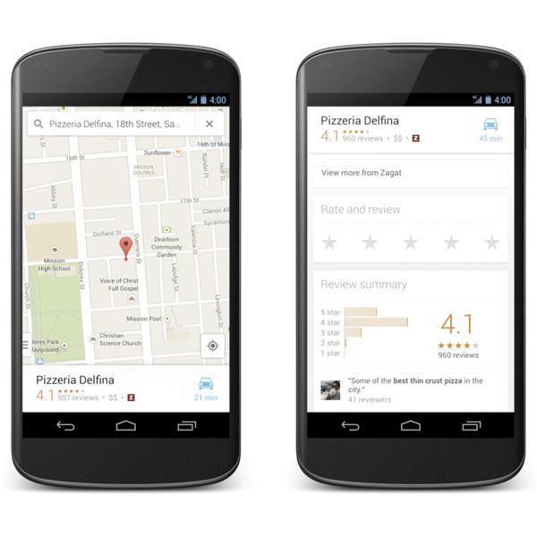 La aplicación Google Maps para Android se actualiza con nueva interfaz en el Play Store