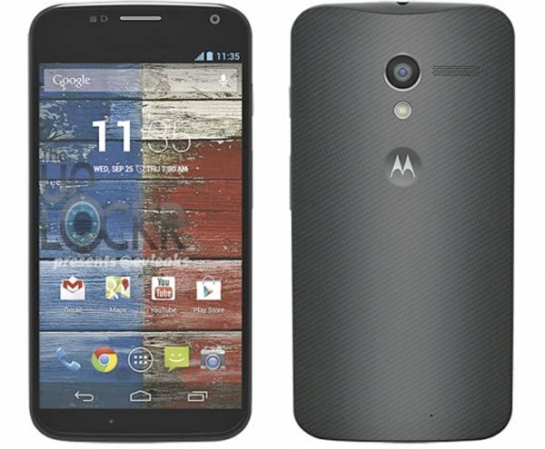 Primera imagen oficial filtrada del Motorola Moto X