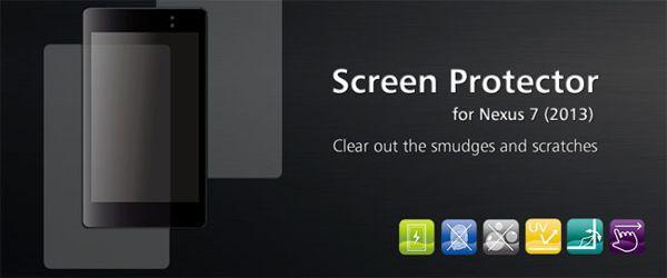 Protector de pantalla del Nexus 7 2013