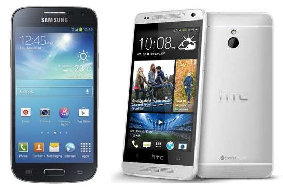 Samsung Galaxy S4 Mini y HTC One Mini