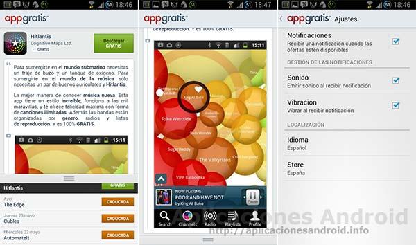 Aplicaciones Android en oferta: AppGratis