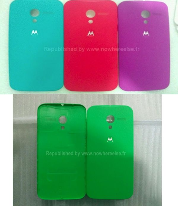 Diseños de las carcasas para el Motorola X Phone