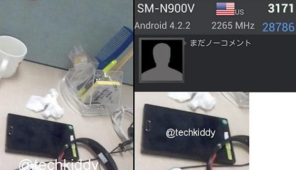 Más filtraciones del Samsung Galaxy Note 3 de 5.7 pulgadas