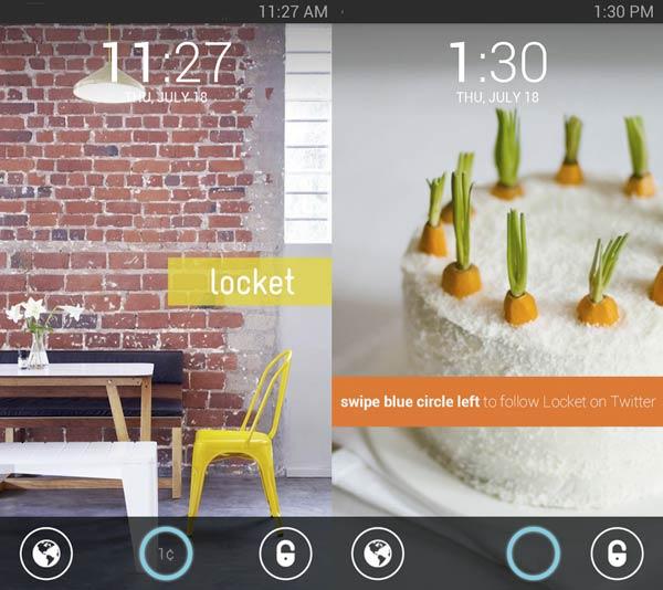 Locket es una app android que te paga por anuncios en tu pantalla de bloqueo