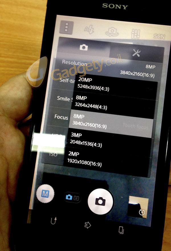 """Sony Xperia """"Honami"""" con cámara de 20 Megapíxeles"""