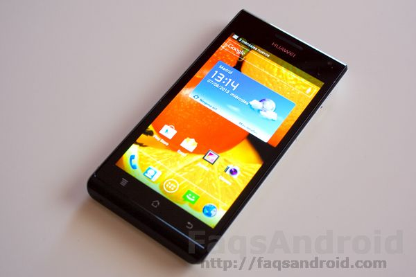 Materiales Huawei Ascend P1