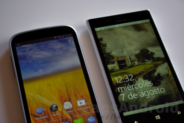 Comparativa ZTE Grand X vs Nokia Lumia 720