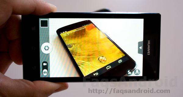 Análisis del Huawei Ascend P1: test camara