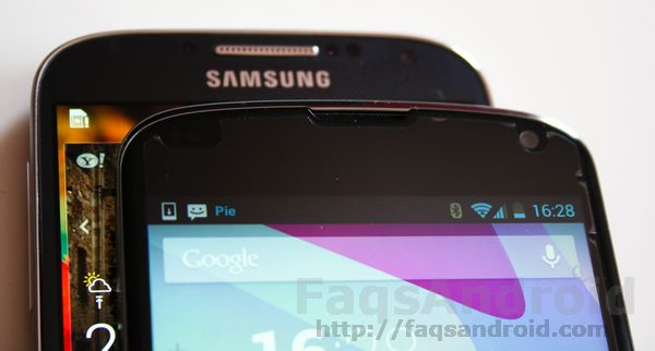 Comparativa Samsung Galaxy S4 vs LG Nexus 4 en vídeo HD
