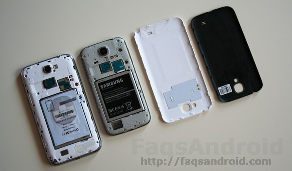 Samsung Galaxy S4 vs Samsung Galaxy Note 2: Construcción