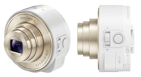 Imágenes de prensa de Sony Smart Shot, los objetivos para móviles android