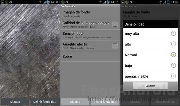Los 5 mejores fondos de pantalla 3D para Android: 3D Layer Live Wallpaper