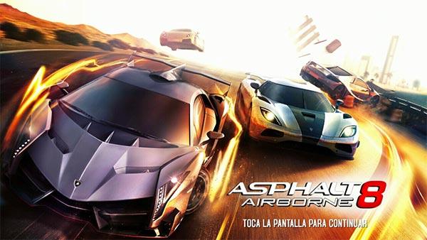 Ya podmoes descargar gratis el juego Asphalt 8 para Android en el Google Play Store