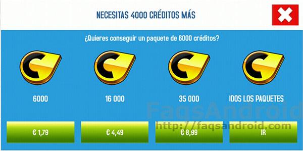 De pago y con compras in App