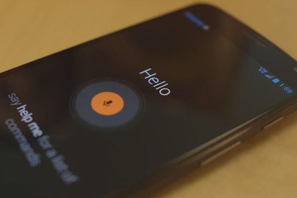 Escucha activa Motorola Moto X