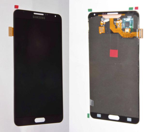 Primeras imágenes del frontal definitivo del Samsung Galaxy Note 3