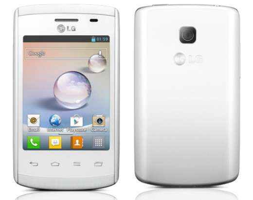 LG Optimus L1 II blanco