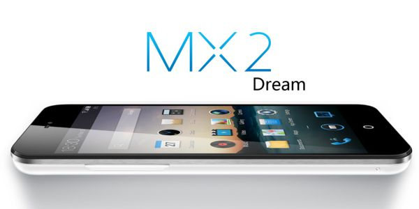 Meizu MX2 tumbado