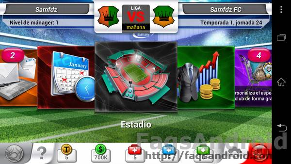 Top Eleven para Android 4