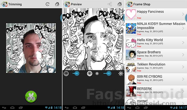 Diez aplicaciones Android chorras: Cámara Otaku
