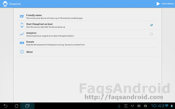 Ya puedes descargar gratis la aplicación CheapCast para Android