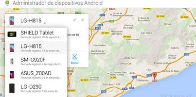 Android Device Manager, el localizador de móviles: encuentra y borra tu Android a distancia