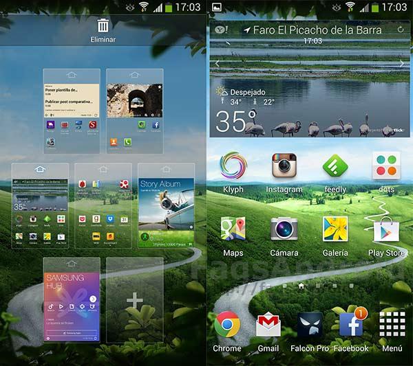 Cómo organizar los escritorios en Android