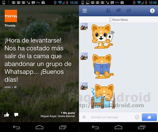 Facebook para Android y Facebook Home se actualizan con diferentes novedades