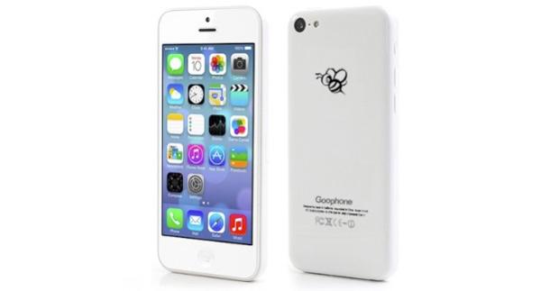 Aparece un móvil android que es un clon del iPhone 5C Low Cost