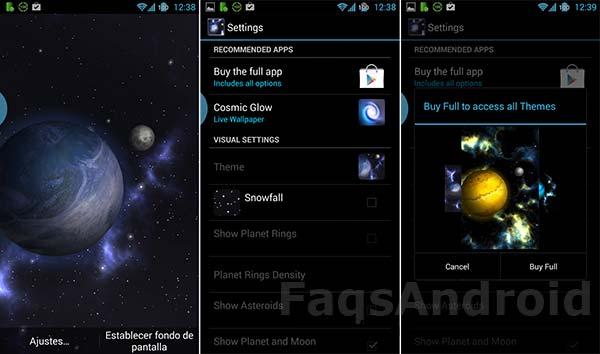 Los 5 mejores fondos de pantalla 3D para Android: GyroSpace 3D
