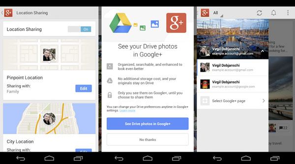 Google Plus para Android se actualiza con interesantes mejoras